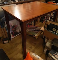 High Table with Shinto Stools