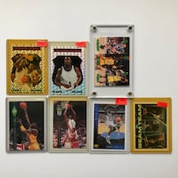 7x Shaquille O'Neal Basketball Cards Toronto