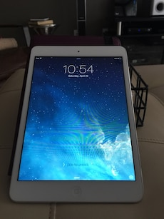 IPad mini silver 16gb