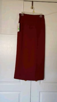red and black long sleeve dress Vaughan, L4H 2L3