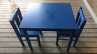 IKEA kids table and 2 chairs  Coburg, 97408