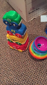 Stacking toys. Fisher price and another. Vaughan, L4J 5L7