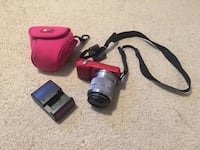 Sony Nex 3 (Red) with Case Logic Case and Memory Stick Pompton Plains, 07444