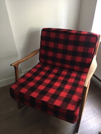 Mid Century Newly Reupholstered Rocking Chair Vancouver, V5T