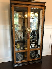 Contemporary Chinese Style China Cabinet Asheville