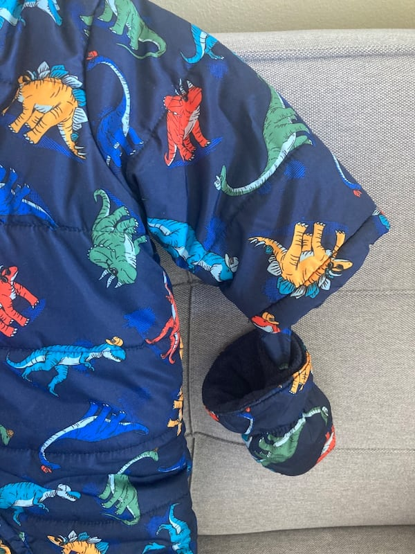 Snowsuit for boy baby 3