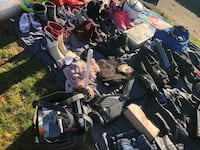 Assortment of shoes,clothes, miscellaneous Abbotsford, V2S 3N7