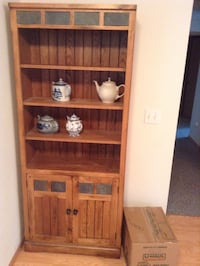 Rustic oak shelf cabinet Ellensburg, 98926
