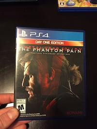 Metal Gear Solid: The Phantom Pain PS4 null, V0M