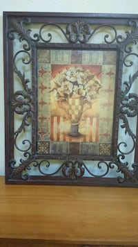 Metal  Large Frame Picture Belmont, 94002