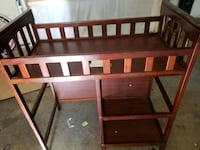 Changing table with pad and cover Citrus Heights, 95621