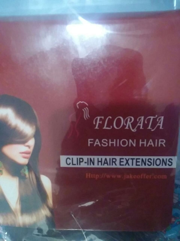 Used Florata Fashion Hair Clip In Hair Extensions In Anchorage Letgo