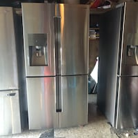 Stainless steel refrigerator Samsung 4 door  Downey, 90240