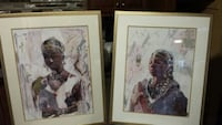 2 African Art Pieces Owings Mills