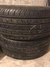 2 tires only. 215/55/16 All-Season Whitchurch-Stouffville, L4A 1Y3