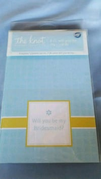 The knot will you be my bridesmaid cards Orange, 92869