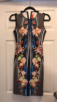 XS Clover Canyon Printed Stretch Dress  Mississauga