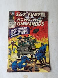 SGT.FURY AND HIS HOWLING COMMANDOS Surrey, V3W 2A1