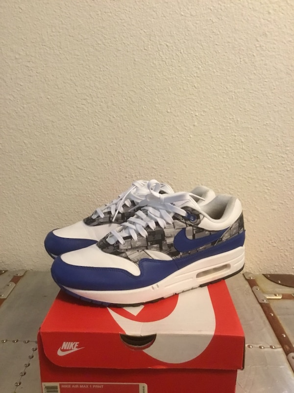 new cheap the sale of shoes latest Nike Air Max 1 print