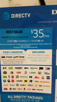 Premium Cable Service from AT&T Baltimore, 21224