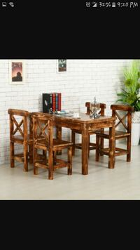 brown wooden dining table set Winchester, 22601