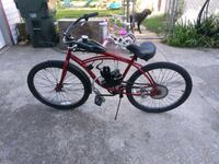 black and red motorized bicycle Wichita, 67213