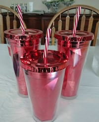 3 red thermal cups Mississauga, L5R 2A4