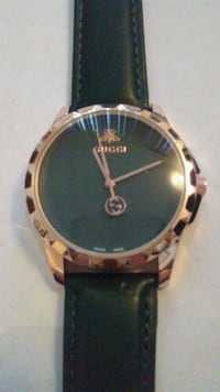 Dark green leather and gold Gucci watch.read/pics Albuquerque, 87108