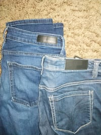 Two pairs womens jeans size 10 Surrey