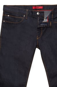 Hugo Boss 'HUGO 708' (Used) | Slim Fit Cotton Blend Coated Japanese Denim Jeans (Size 34x34 EUR34) Washington