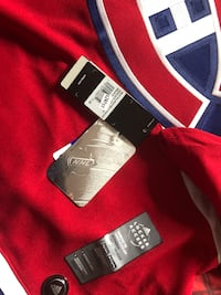 red NHL Montreal Candaiens jersey