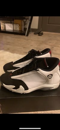 pair of white-and-black Nike basketball shoes Perrysburg, 43551