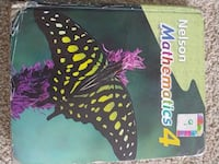 Nelson Mathematics Textbook grade 4 Mississauga, L5W 1B8