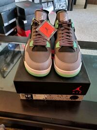 Air Jordan Glow 4's size 12. DS with box