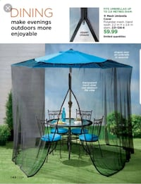 Mesh Umbrella Cover.  New in box Edmonton, T6M 2G7
