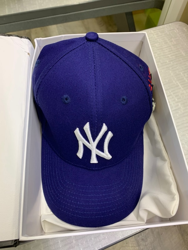 c2822371acc71 Used Gucci Yankee Baseball Cap Blue for sale in Smyrna - letgo