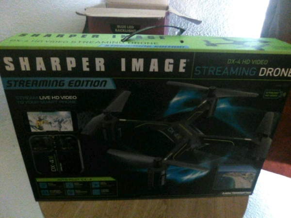 Used Sharper Image Dx 4 Hd Video Streaming Drone For Sale In