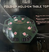 Texas Hold'em table top Woburn, 01801