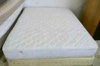 quilted white mattress and white bed frame El Paso, 79902