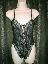 Victoria Secret Vintage Gold Label Lace Teddy Hawthorne, 90250