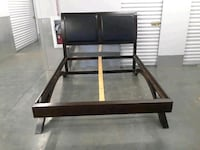 Free delivery Leather? Bed frame Hyattsville, 20784