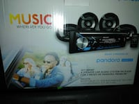Music Pandora car audio system package box