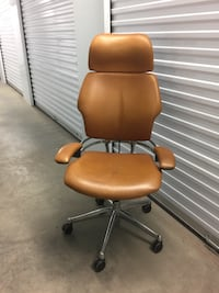 Freedom Chair Brown leather swivel Rockville, 20850