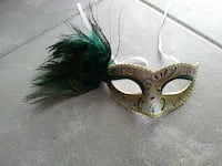gray floral masquerade mask Fort Myers, 33919