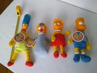 The Simpsons 1990 20th Century Dolls ganzbros Whitchurch-Stouffville, L4A 0J2