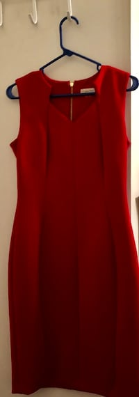 Red size 6 Calvin Klein dress! Dunellen, 08812