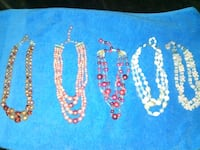 Necklace lot (sold together) Kansas City, 64133