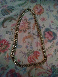 gold 14k cuban link chain necklace Miami, 33138
