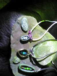 Handmade, carved out of rock necklaces!