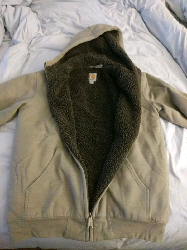 82304f412 Used Carhartt Fleece Jacket - Medium for sale in New York - letgo